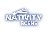 nativity scene logo