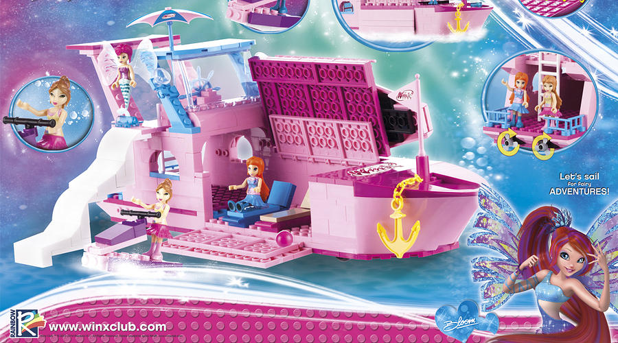Winx Club Bricks