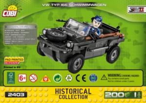 2403 VW Typ 166 Schwimmwagen