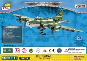 5707 Boeing™ B-17F Flying Fortress™ Memphis Belle