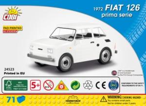 24523 Fiat 126 1972 prima serie