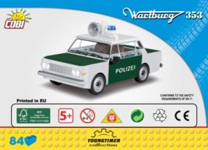 24558 Wartburg 353 Polizei