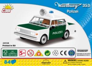 24558 (s2) Wartburg 353 Polizei
