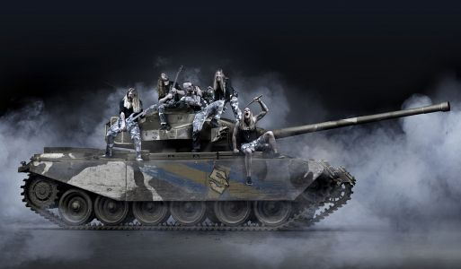 3034 Sabaton Tank Press Photo