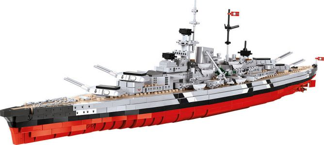 Battleship Bismarck - COBI Blocks from EU