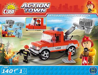 Articulated Boom Fire Truck