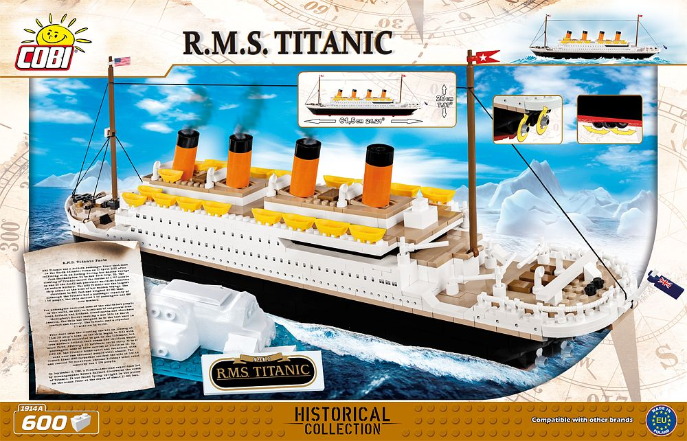 Titanic Rms Cobi Blocks From Eu