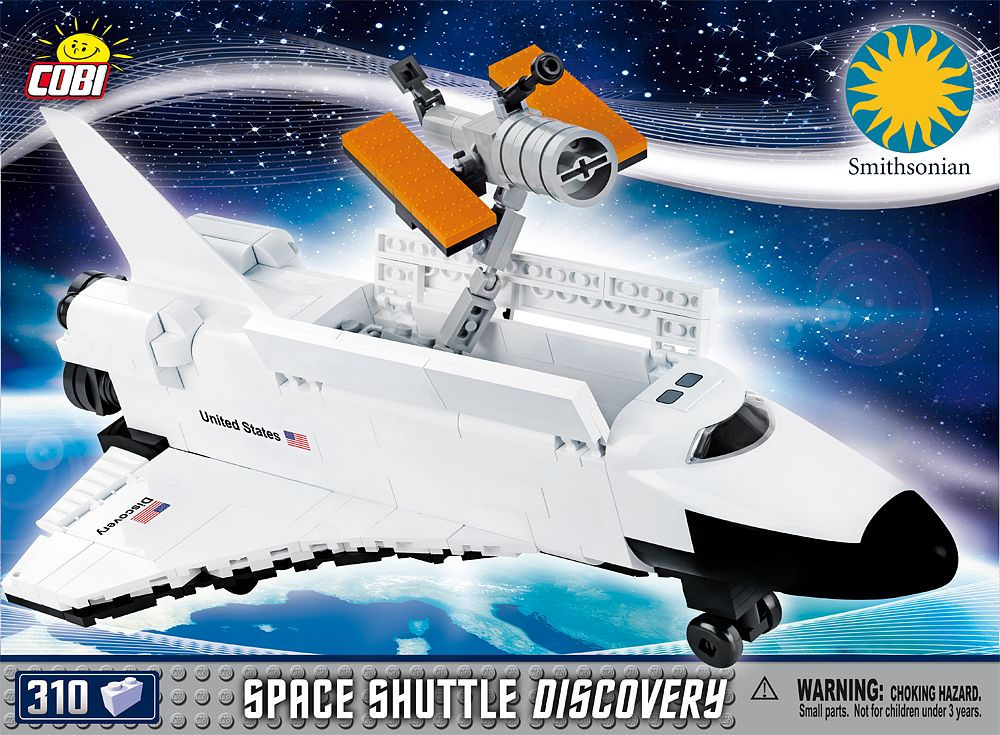 space shuttle discovery cobi - photo #1