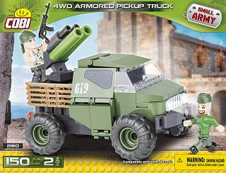 4 WD Armored Pickup Truck