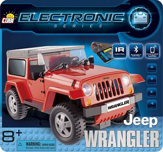 Jeep Wrangler (red, r/c)