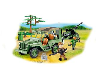 Willys MB with Cannon