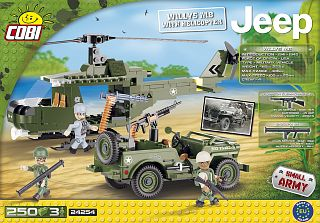 Willys MB with Helicopter