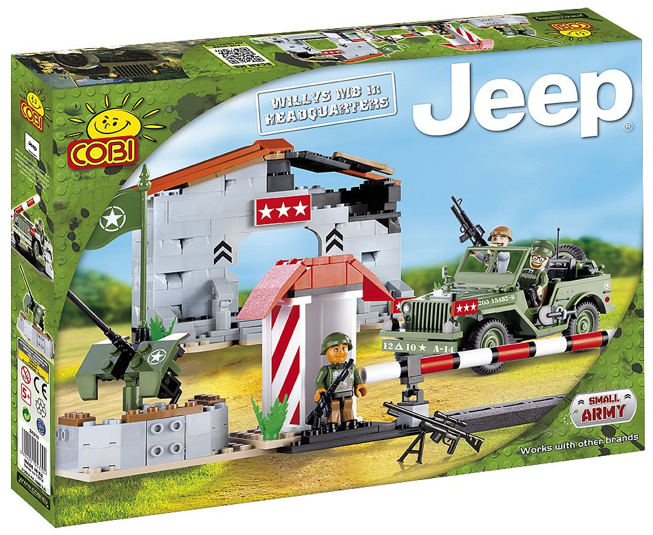 Jeep Willys MB with Headquarters - COBI Blocks from EU