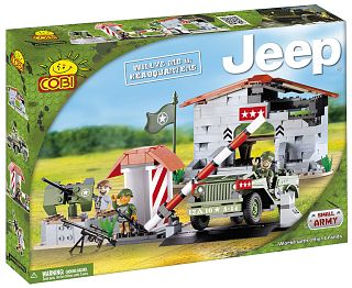 Jeep Willys MB with Headquarters