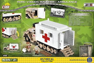 Ford V300S Maultier - Ambulance