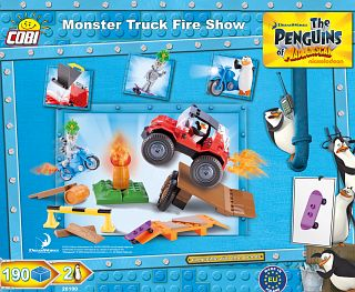 Monster Truck Fire Show