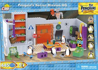 Penguin's Secret Mission HQ