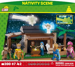 Nativity Scene 200 blocks