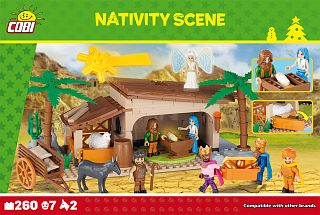 Nativity Scene 260 blocks