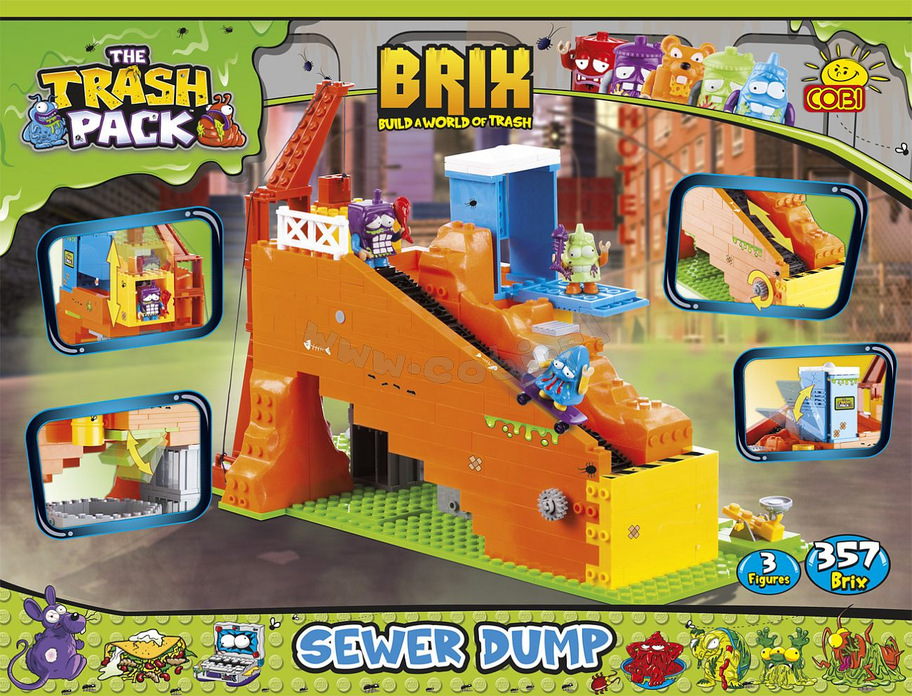 The Trash Pack Sewer Truck